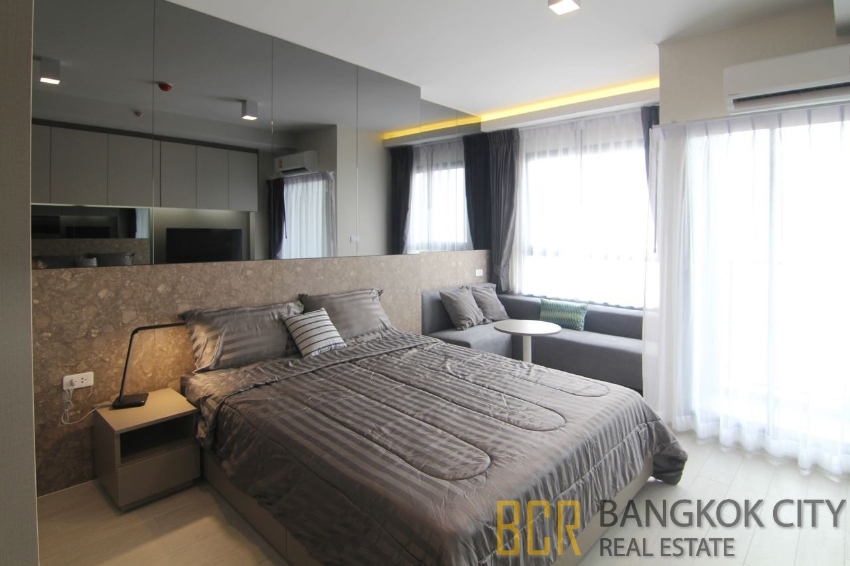 Ideo Sukhumvit 93 Luxury Condo High Floor Studio Unit for Rent - HOT