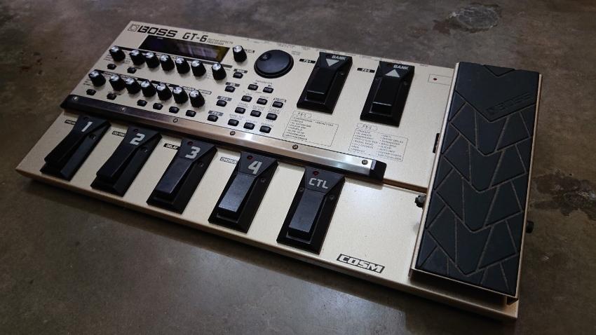 Boss GT-6 guitar effects processor- Part Exchange and Swap Too