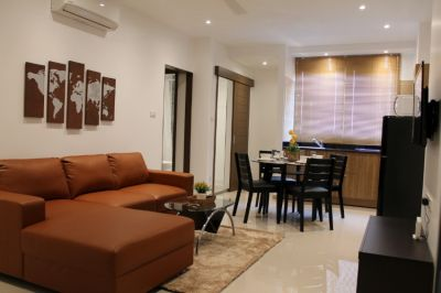 Newly renovated fully furnished 2 bedroom condo located near to Nimman
