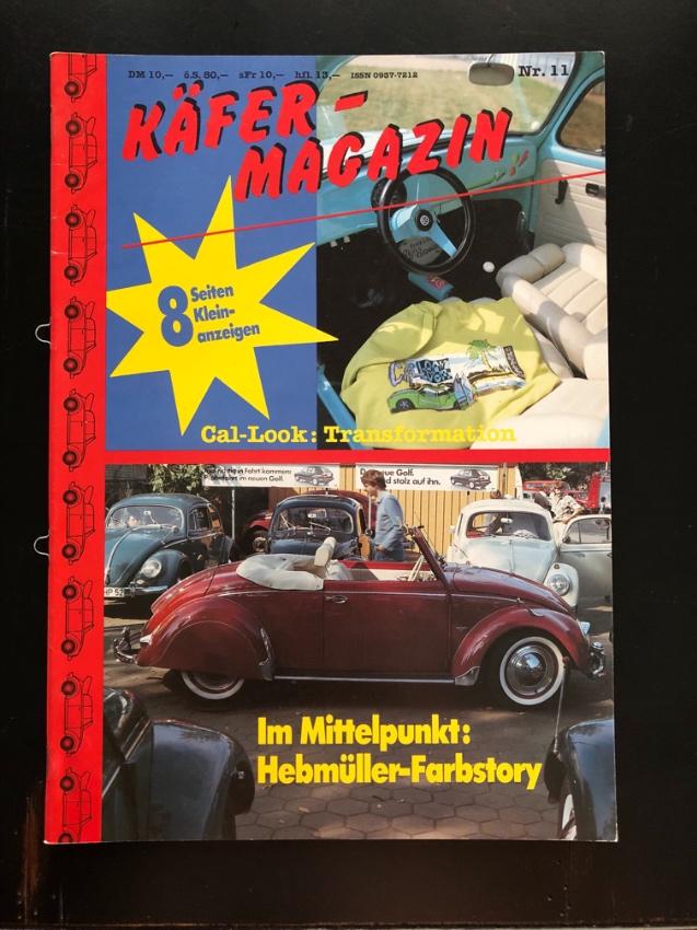 3 VW beetle Magazines like New / 3 VW Käfer Magazine wie neu