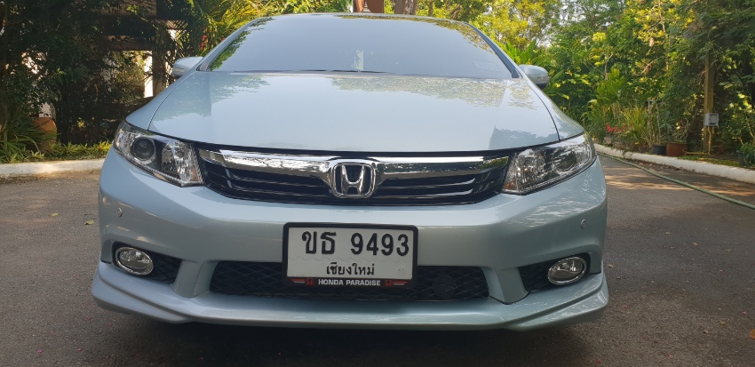 Honda Civic 2.0 i- VTEC. Top of range model.