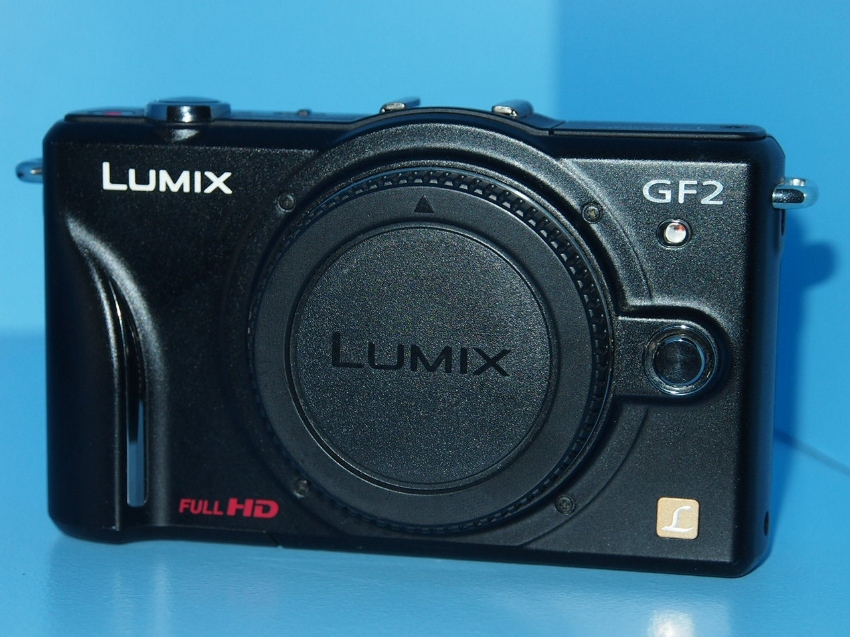 Panasonic GF2 Lumix DMC-GF2 Black Body