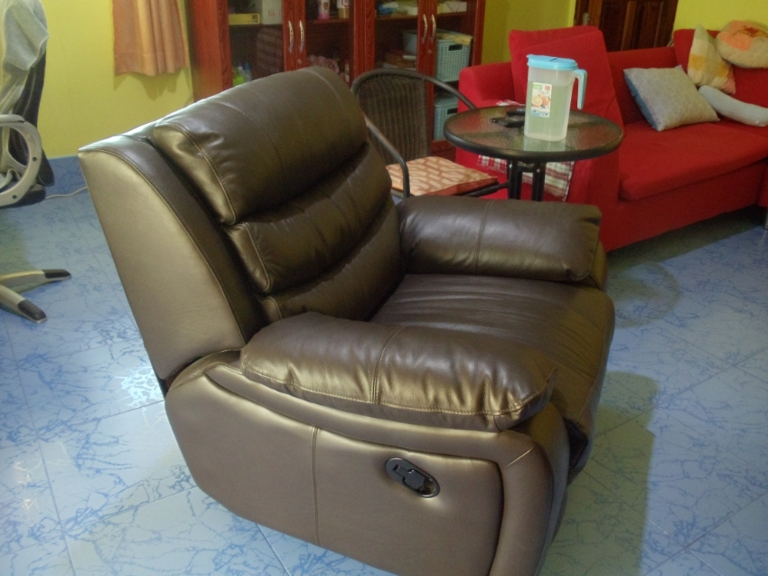 Leather Recliner Only 2 Months Old