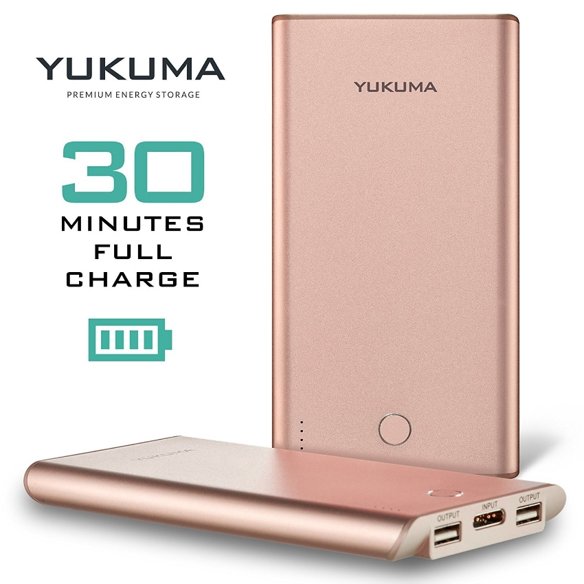 YUKUMA Powerbank the fastest in the world - 30 Minutes full charged