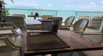 For sale seafood and Thai cuisine restaurant seafront Bophut Koh Samui
