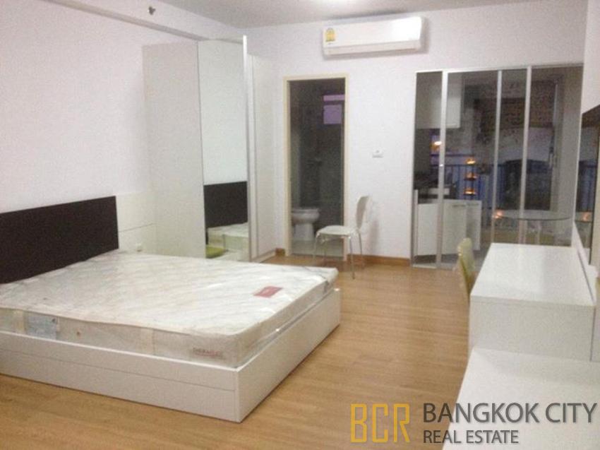 Supalai Park Asoke Ratchada Condo Furnished Studio Unit for Rent/Sale