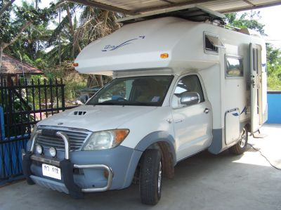 Camper, Motorhome Toyota Terranova  Bj. 06, 67200 km, Bathroom, Toil.