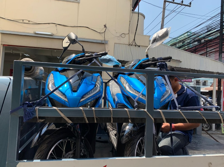 2019 motor bike 100 baht a day when you lease over 2 months
