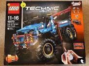 Lego Technic 42070, 6x6 All Terrain Truck, new in original sealed bags