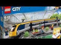 Lego City 60197 Passenger Train, parts in original sealed bags
