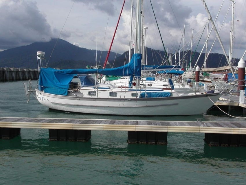 Creala 36 cruising sailboat