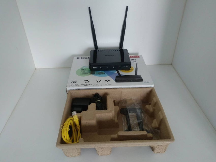 D-LINK Wi-Fi Range Extender DAP-1360 Access Point/Wireless with 2 * 5d