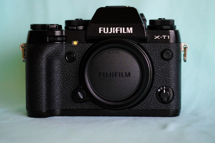 Fuji Fujifilm X-T1 Weather Resistant Wi-Fi Digital Camera Black Body