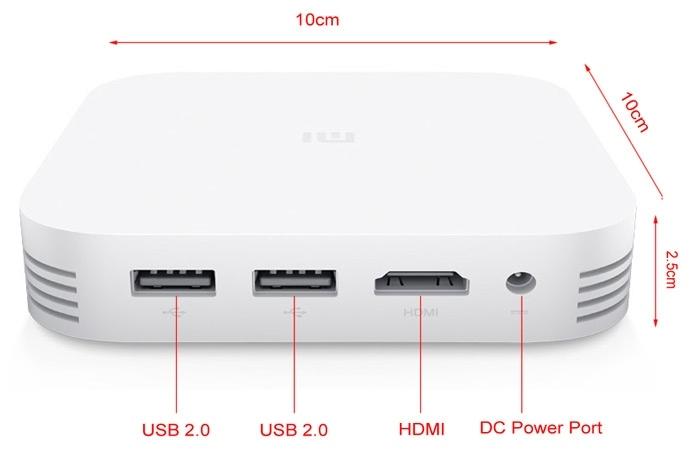 Xiaomi Mi Box 3 Enhanced TV Box (Never used)