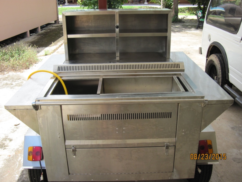 Hot Dog Steam Cart For Sale