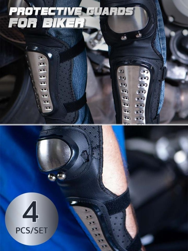 Protective Guards for biker