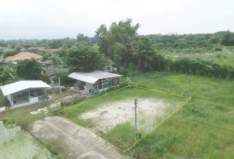 Land for sale near Ta Rua Market, Chiang Mai