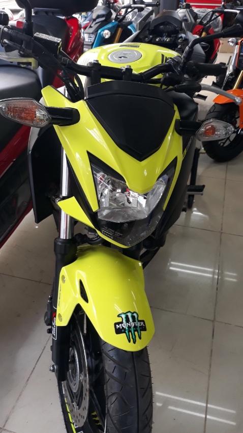 Honda CB300F Model 2015 use mileage 1,140km. special price 80,000 bath