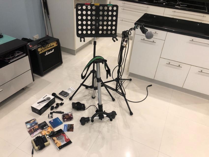 Misc studio gear