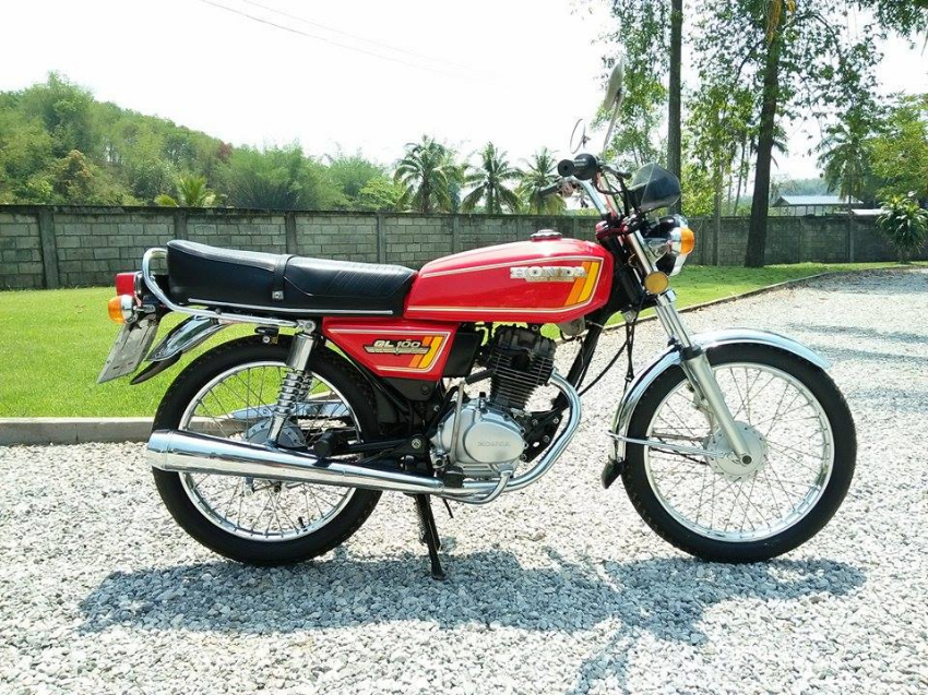 Classic 1978 Honda GL100 Super Sport
