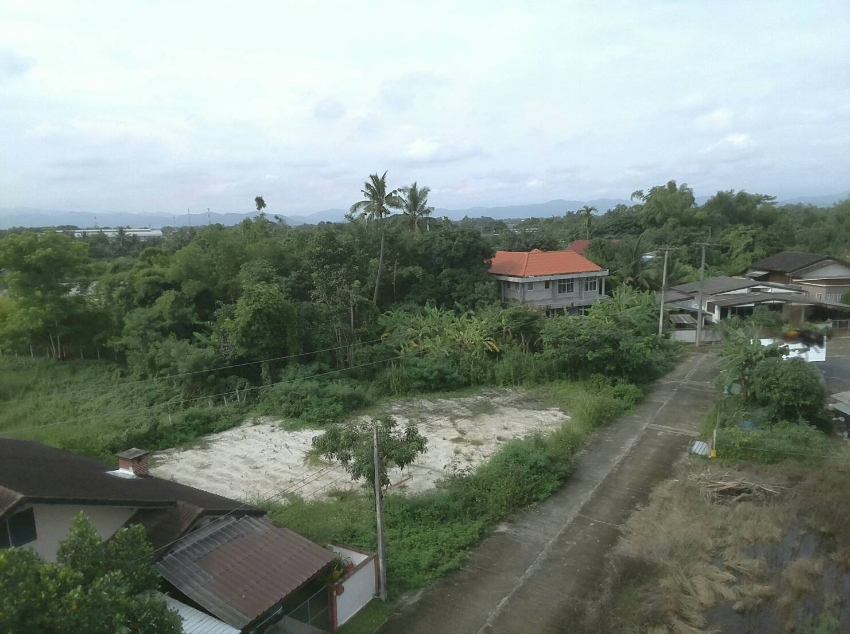 Filled land 5 minutes to Tha Rua Market, Doi Saket.