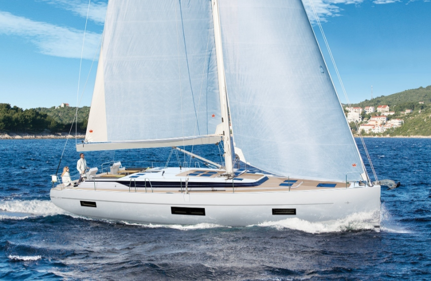 Brand new Bavaria C50 luxury sailing yacht available now for delivery.