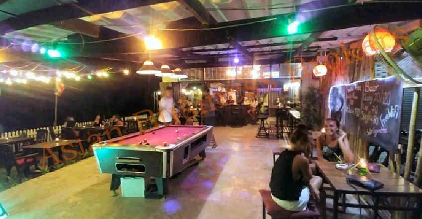 1803002 Garden Cocktail Bar close to the Beach in Koh Lanta