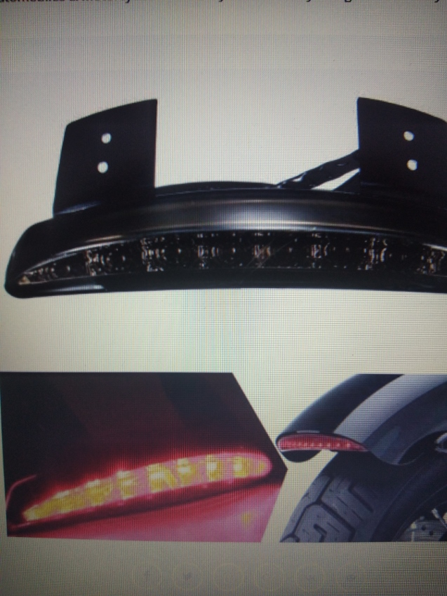 LED REAR LIGHTS SMOKED & RED..ADJUSTABLE ALIMINIUM NUMBER PLATE HOLDER