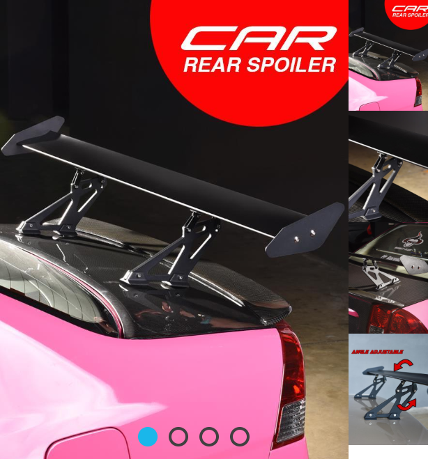 Rear Wing Spoiler New, Still in the Box