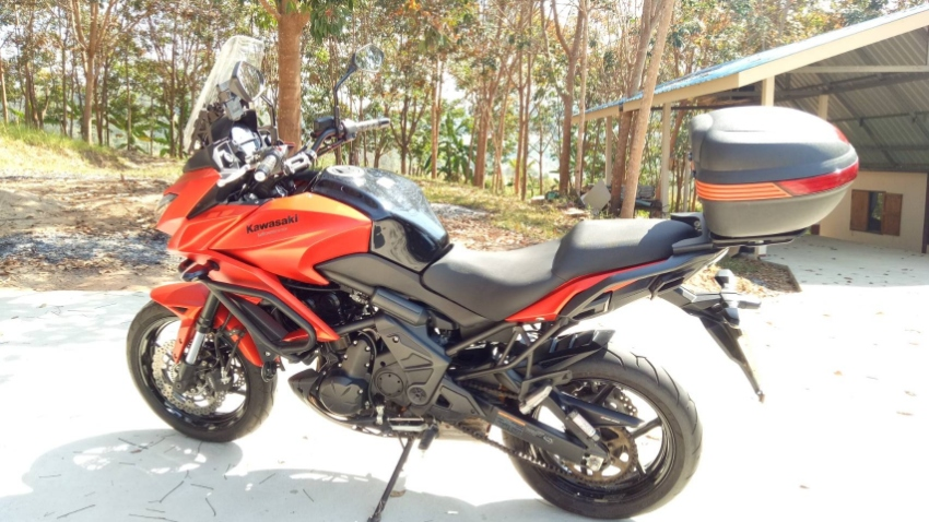Kawasaki Versys 2015 650cc for sale.