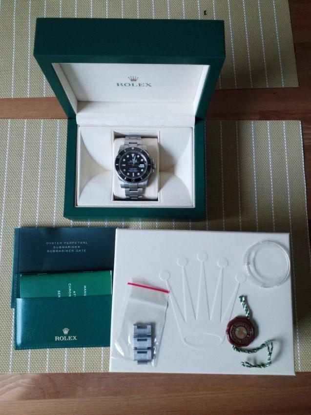 Rolex Sub Date