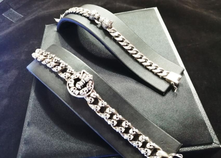 Unique, Custom-Designed rider jewelry, Sterling Silver 925