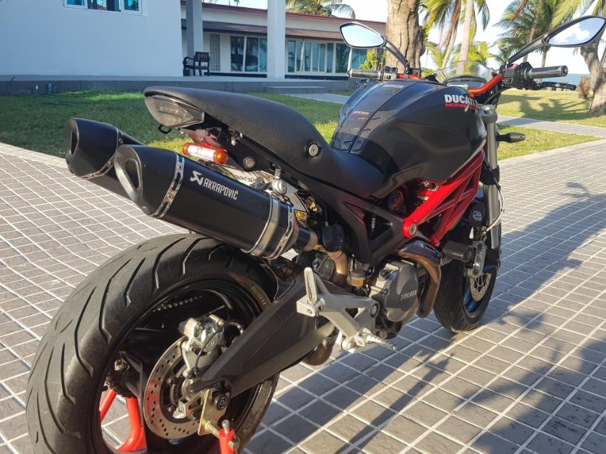 2013 Model Ducati 795 Monster