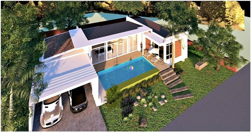 New Quality Built Modern Designed 2 & 3 BR Pool Villas Only 4 Plots