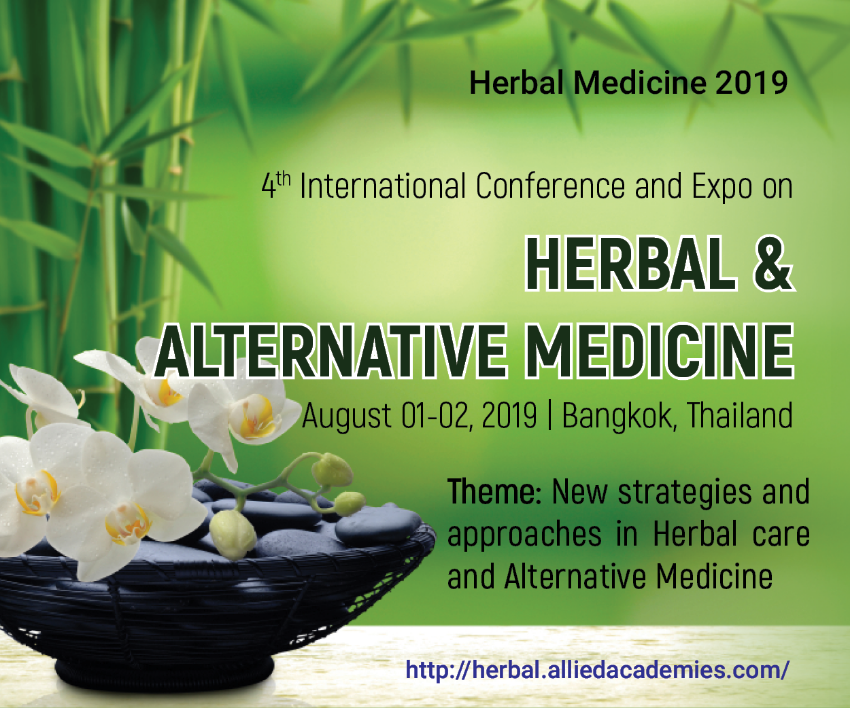 4th International Conference & Expo on Herbal & Alternative Medicine