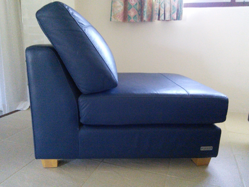 Leather chairs to make into a sofa unit design of your choice