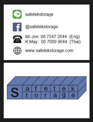 Self Storage  available @ Safetek Storage