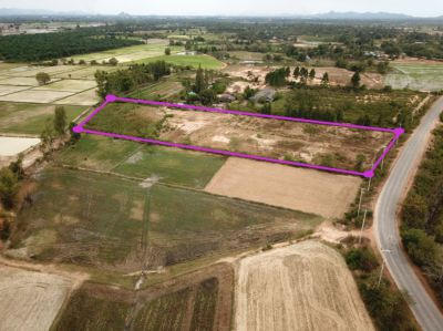 Land 7 rai 261 T.w. for sale in Pranburi - Sam Roi Yot Railway Project