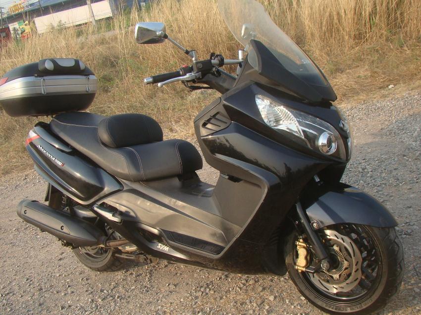 Big Sym Scooter 400i, 2014, 26 000 km, freshly serviced, Top