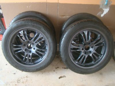 Free delivery BKK/Pattaya 4 aloy wheels (six holes) tyres 265 50 R20