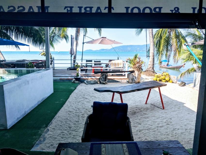 For sale Yacht-Club Restaurant Bar on the beach in Kho Samui