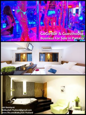 Gogo Bar & Guesthouse Business For Sale in Pattaya