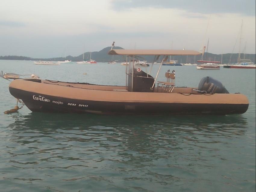 RIB 7.5 meters Yamaha 250 hp 4 stroke