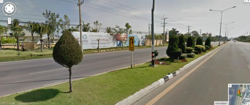 Land for sale on Petchkasem Road Cha-am- Hua Hin