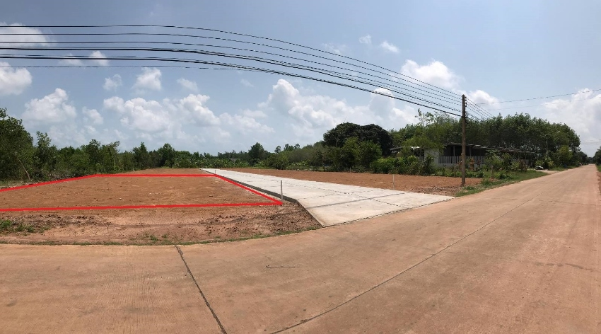 Land plot for sale close to the beach in Rayong!