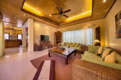 20 meter from the beach: 3-bed dream pool villa on Koh Samui