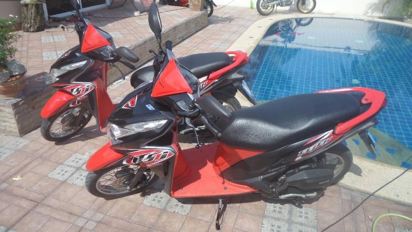 Honda Click 125 EFI rent start 1.600 ฿/month