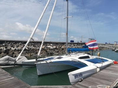 New arrival, 2008 Corsair 28 Trimaran with trailer priced to sell !