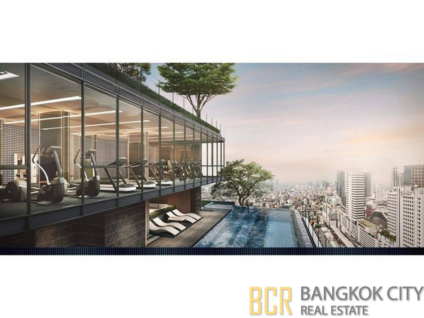 The Line Asoke Ratchada Luxury Condo Brand New 1 Bedroom Units Rent