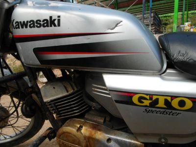 CLASSIC KAWASAKI GTO SPEEDSTER 125 SIMILARE TO BANGKOK POLICE BIKE